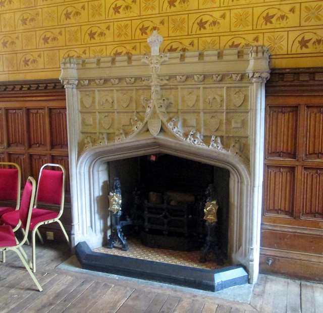 Rochdale Town Hall fireplace