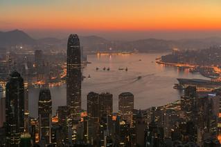 Hong Kong by dusk
