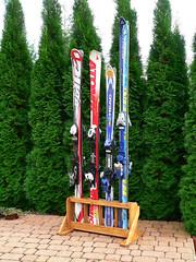 Stojan na lyže 4 místný - titulní fotka