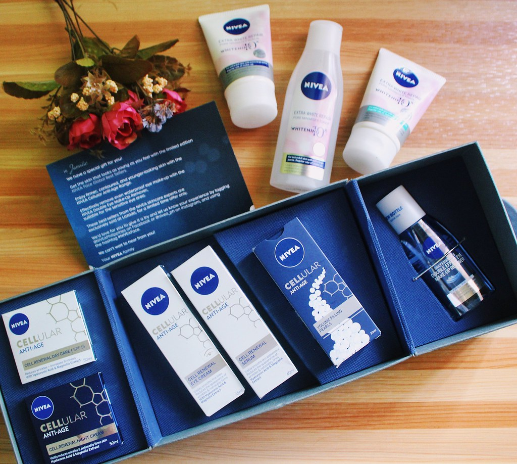 Product Review And Overview Of Nivea S Anti Age Whitening And