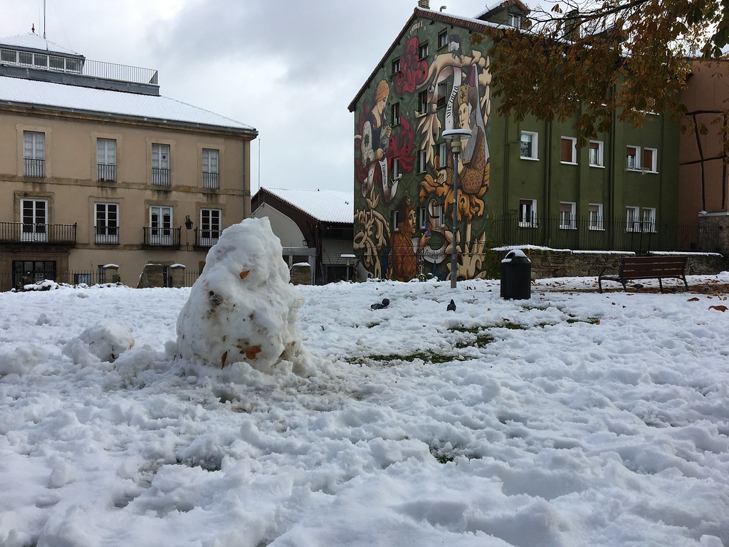 Nieve 1 diciembre