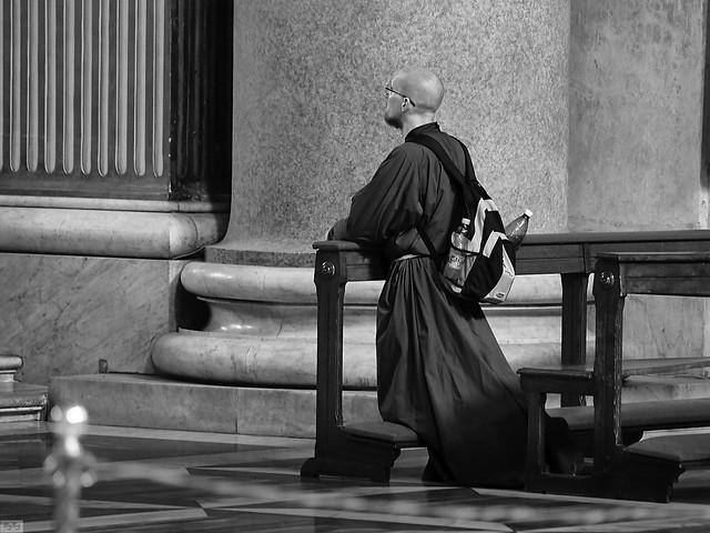 A monk in S.Maria degli Angeli