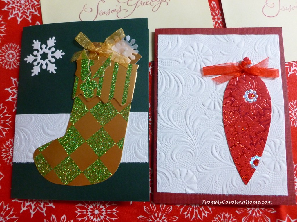 Christmas Cards for Safelight ~ From My Carolina Home