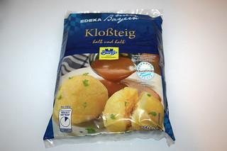 02 - Zutat Kloßteig / Ingredient potato dumpling dough