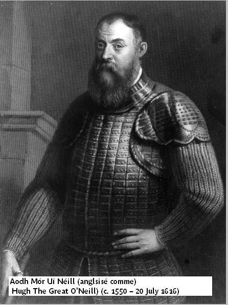 Portrait of Hugh O`Neill, Earl of Tyrone