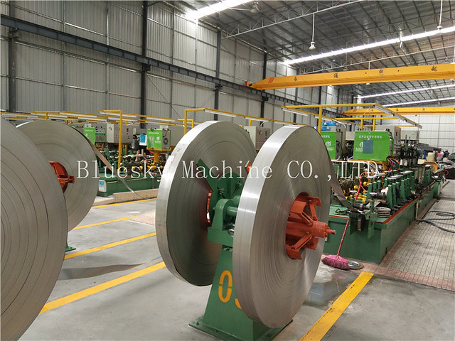 SS Tube Mill Manufacturers In China