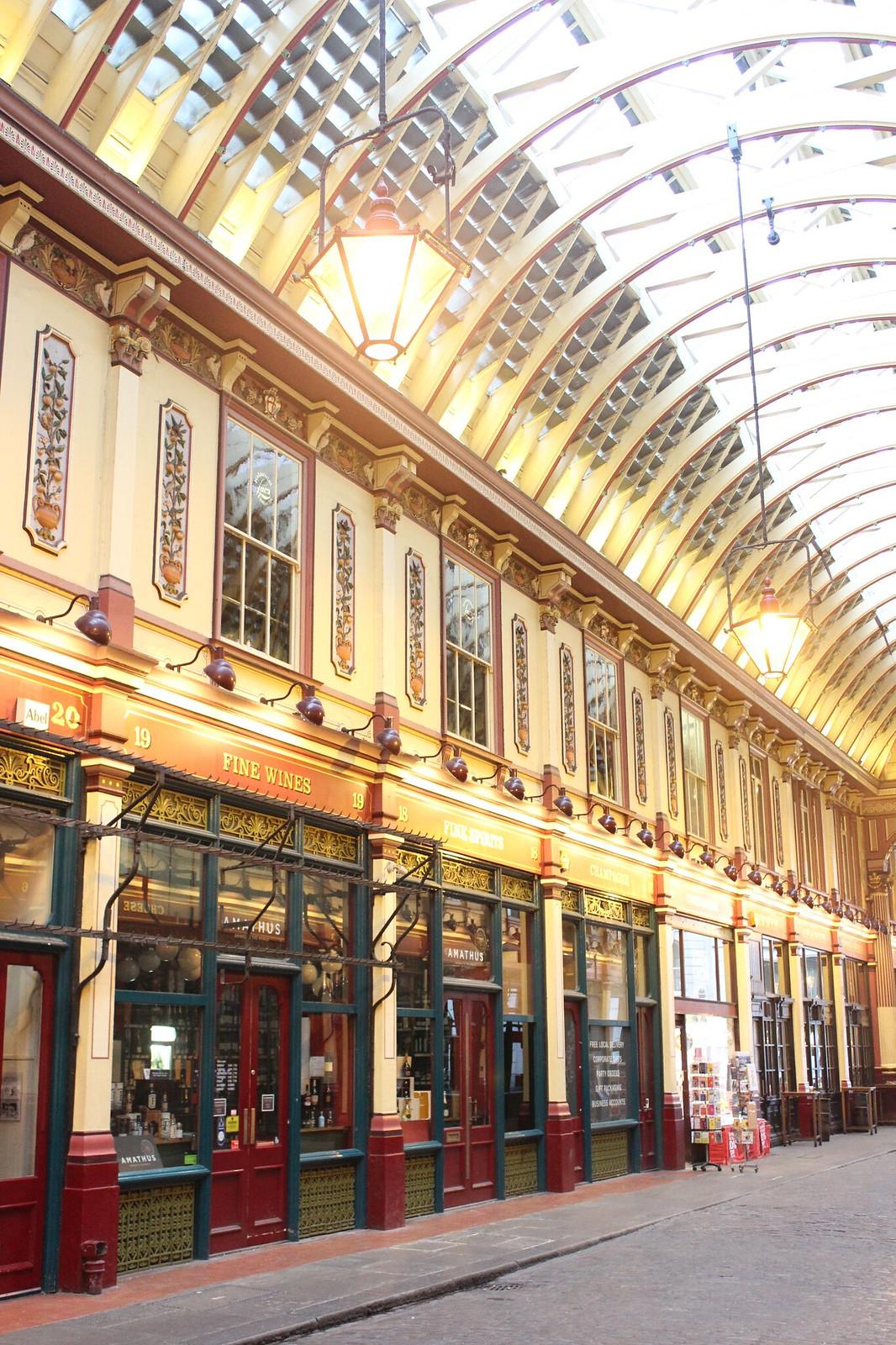 Leadenhall Market, London / etdrysskanel.com