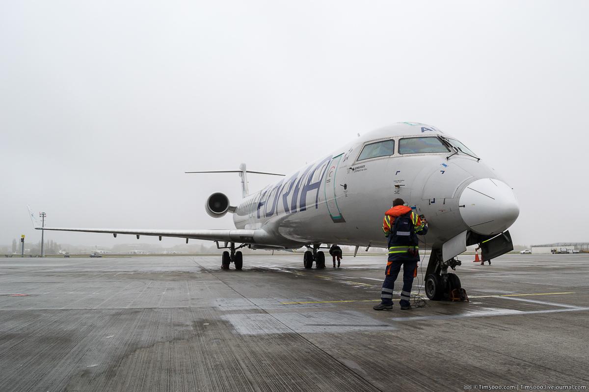 Adria Airways Bombardier CRJ900LR S5-AAN