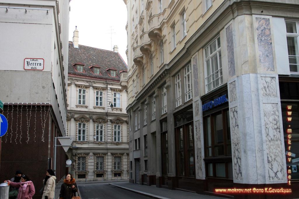 Вена, столица Австрии фотозарисовки