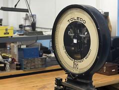 Toledo scales no springs honest weight