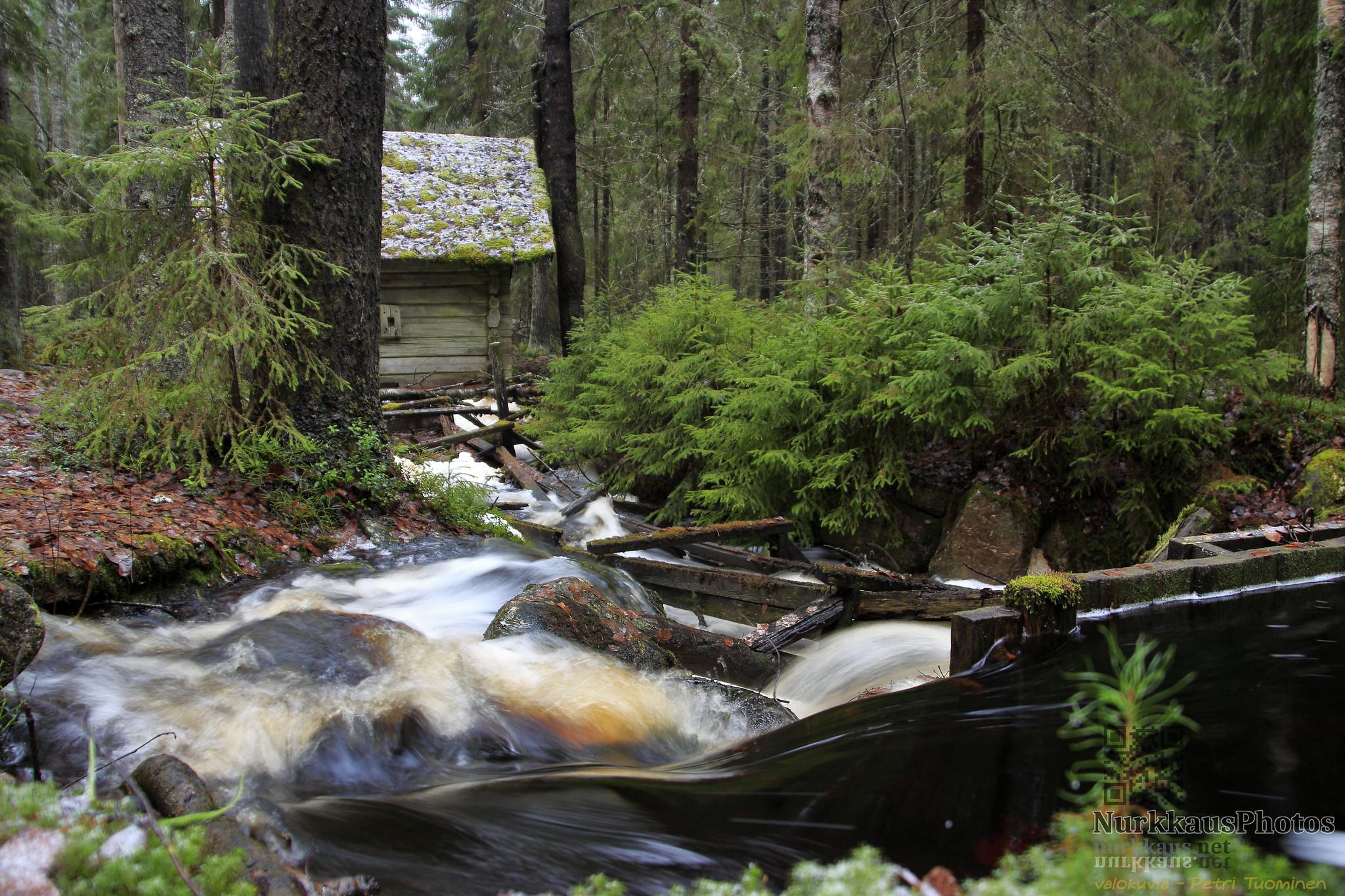 Old mill at Liesijoki