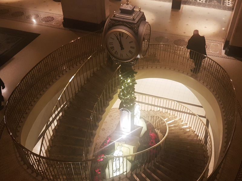 Royal York Christmas staircase