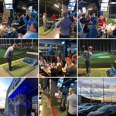 Visioneering Studios team Christmas party at TopGolf in Nashville. @visioneeringstudios #visioneeringstudios