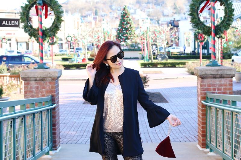 sequin-top-black-blazer-jacket-velvet-bag-4