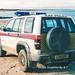 RAF Police Isuzu Trooper EXN399