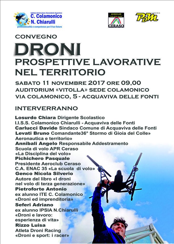 locandina convegno droni2