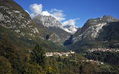 On the mountain road to Limone on Lake Garda