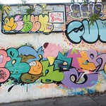 Graffiti Mural on Academy Street, Inwood, New York City