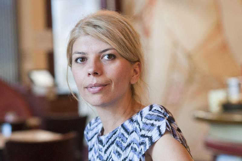 A szerző, Marica Bodrožić 2013-ban (fotó: Peter von Felbert)