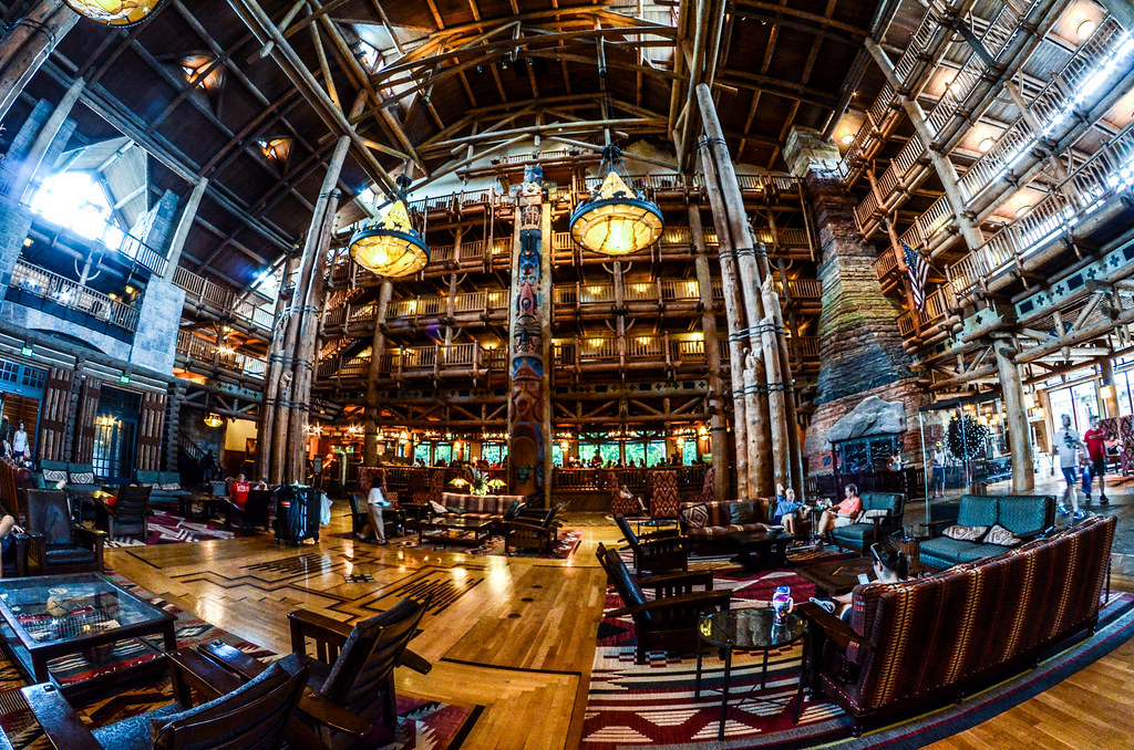 Wilderness Lodge inside