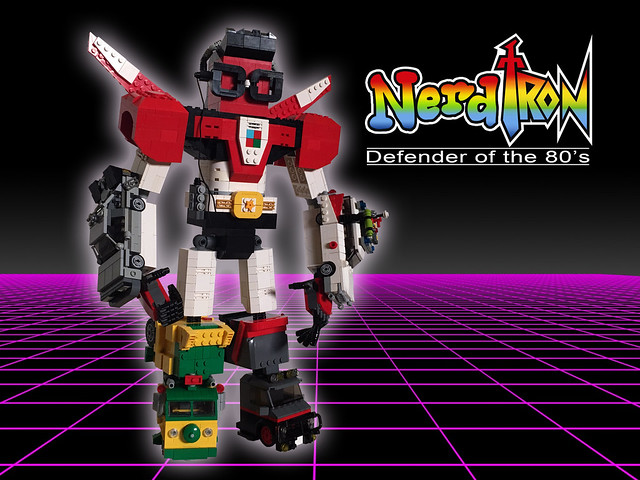 Nerdtron: Defender of the 80's