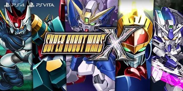 Super Robot Wars X -Ps4 PSVITA