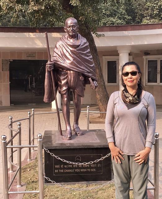 Raj Ghat, Delhi, India - Gandhi Memorial