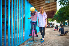 Learning to Unicycle  05