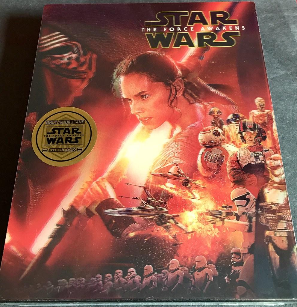 Star Wars: The Force Awakens - Blufans OAB Double Lenticular - Media Psychos