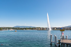 My lovely Geneva - Geneva Fountain 140mt High - Lake Léman - Switzerland - DSC_0205