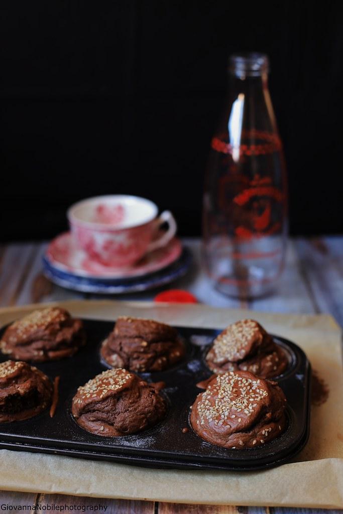 Muffin al cacao e nocciole 1