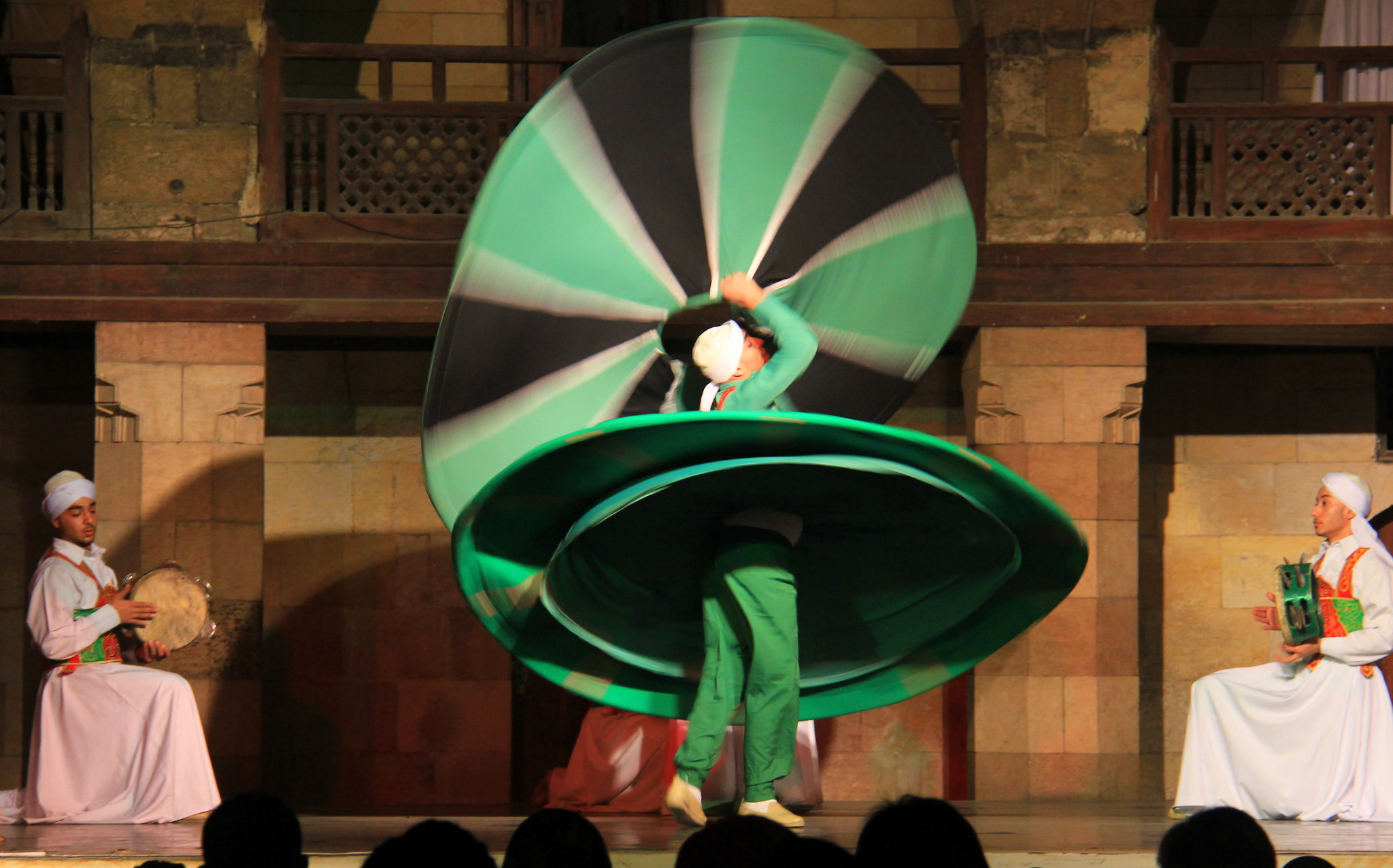 Tanoura dance finale is amazing