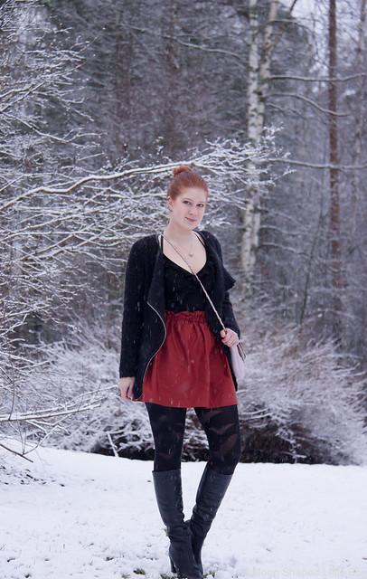 Päivän asu muotibloggaaja pohjois- karjalasta