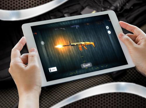Real Gun shot Simulator