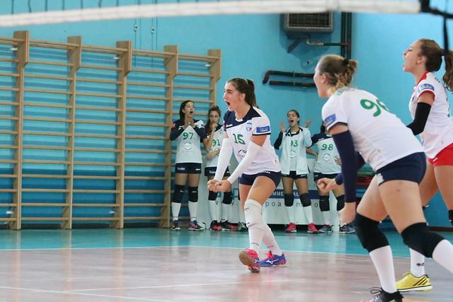 U16 Bianca 18 Novembre 2017 Bracco Pro Patria  - Martesana Volley Cologno 3 - 0