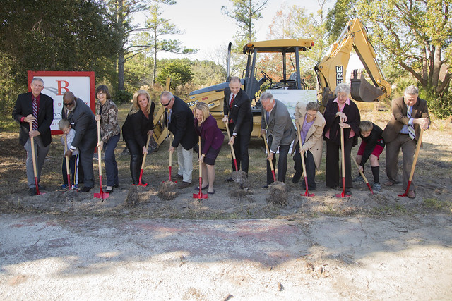 Pine Valley Library Groundbreaking - November 29, 2017
