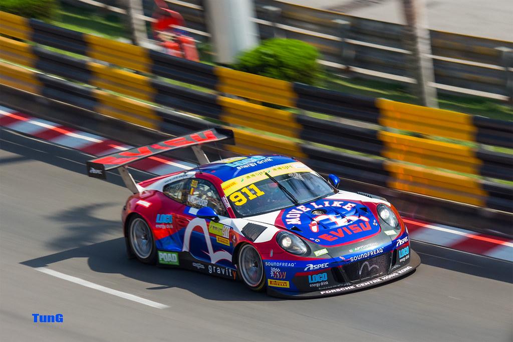 Macau Grand Prix 2017 >> Porsche 911 Gt3r 991 2017 Macau Grand Prix Macau Flickr