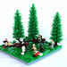 Speeder chase on Endor by First Order Lego