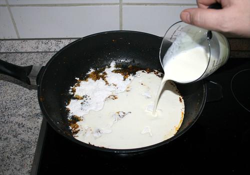 67 - Mit Sahne ablöschen / Deglaze with cream