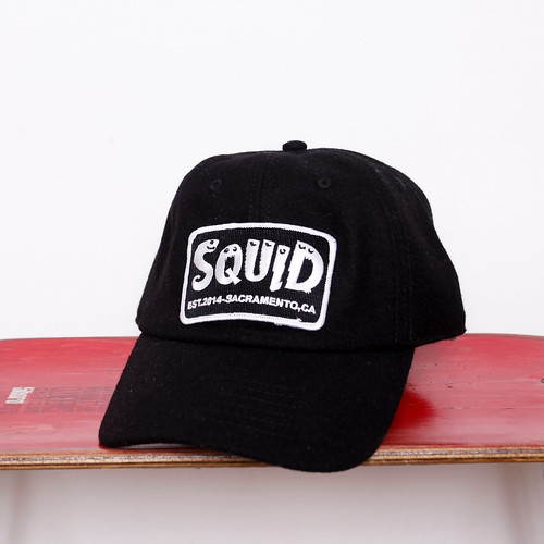 Squid Bikes / Patch Wool Cap