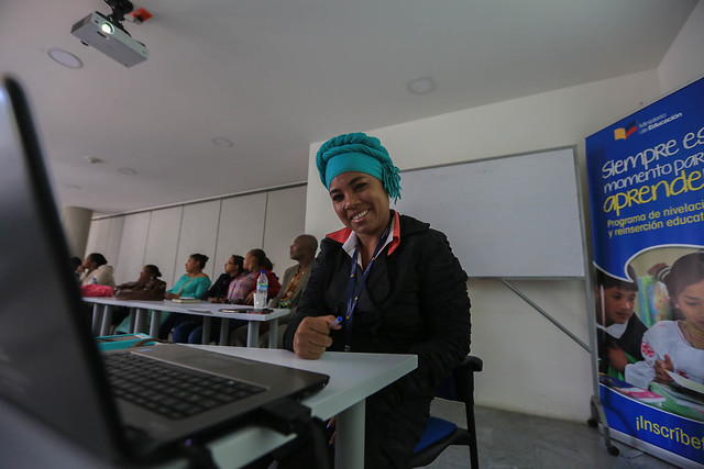 Jornada de Capacitación para los docentes afroecuatorianos de Pichincha