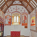 St Teilo's church - biblical wall paintings