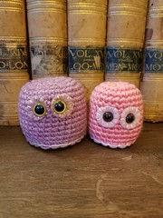 'Lil Blob Set #5 - Mauve and Pink