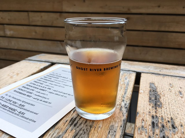 Ghost River Gold Golden Ale Ghost River Brewery Vittle