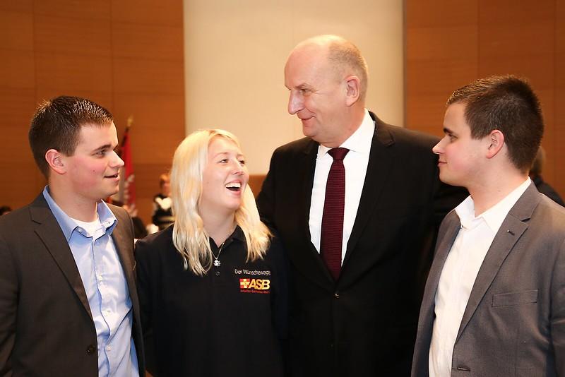 """""""Danke!"""" - Stark und Woidke zollen Ehrenamtlern hohe Anerkennung - Traditioneller Empfang in der Staatskanzlei"""