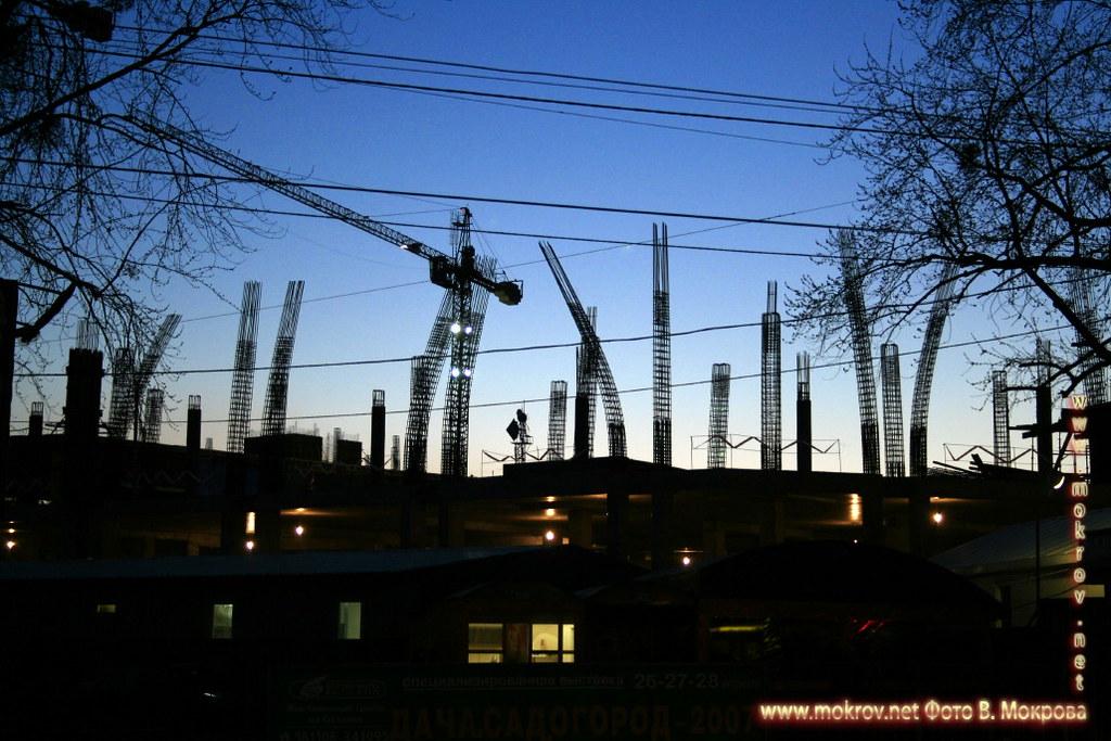 Строительство торгового развлекательного центра европейский, город Калининград.