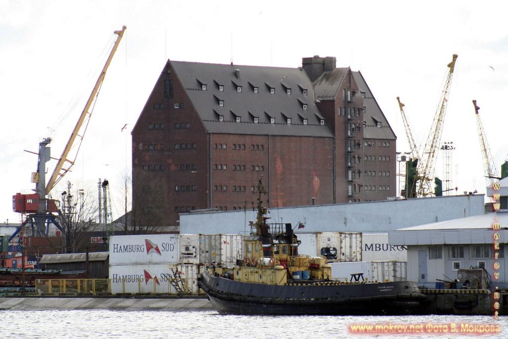 Калининградский торговый порт, фотографии