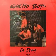 GHETTO BOYS:BE DOWN(JACKET A)