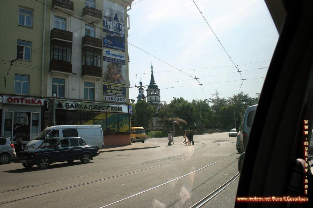 Город Иркутск фотозарисовки.