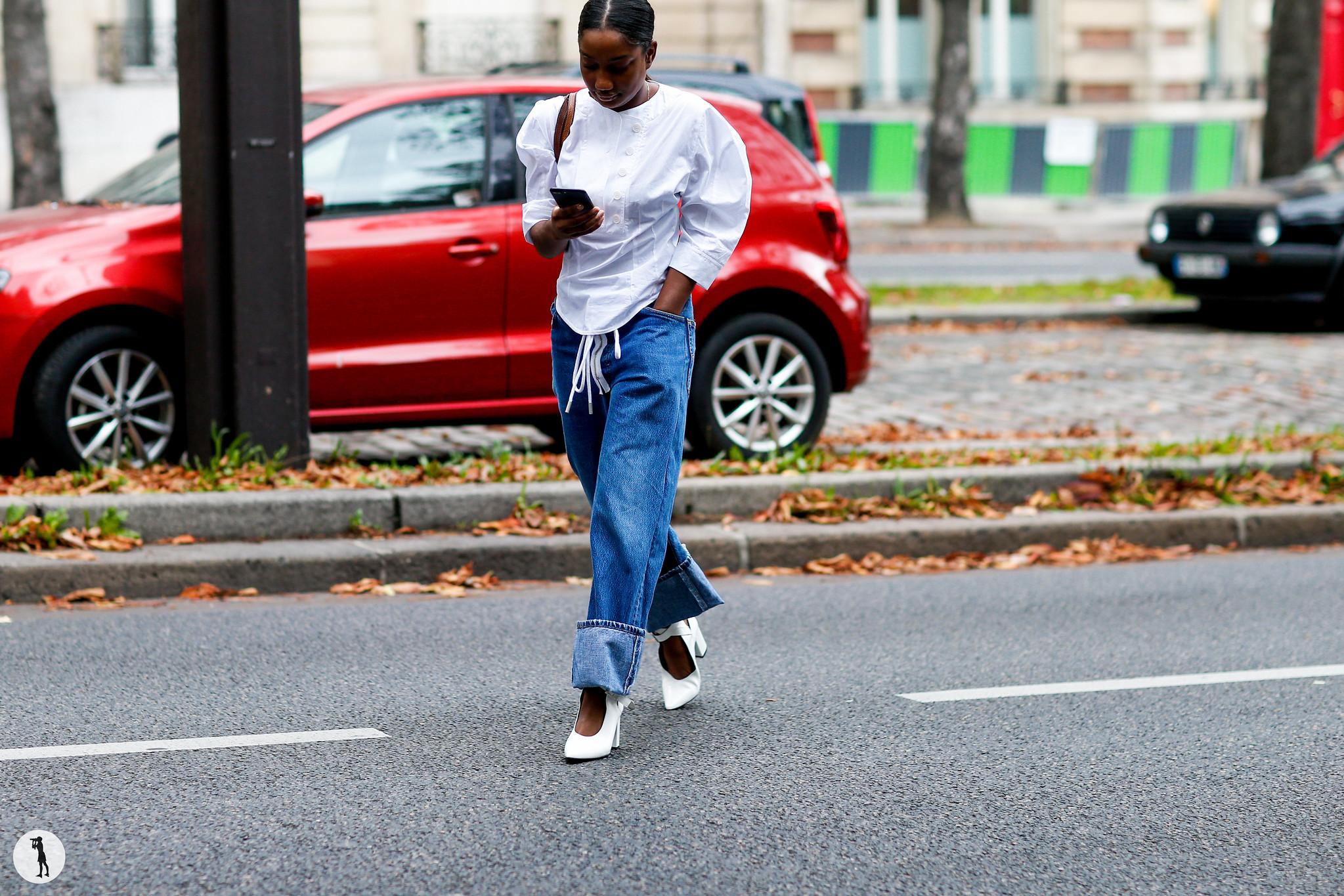 Street style - Paris Fashion Week SS18 (131)